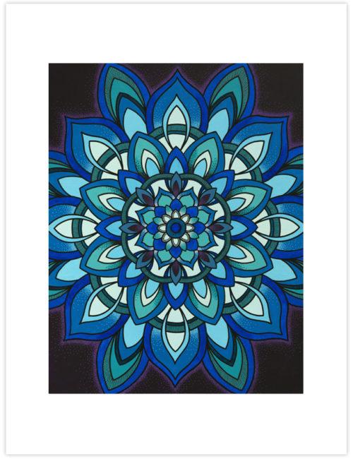 Healing Mandala Print